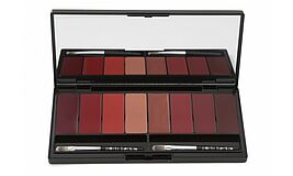 La Palette No.1 - 8 Farben in einer Auswahl vor Rot Burgunder und Beige Tönen